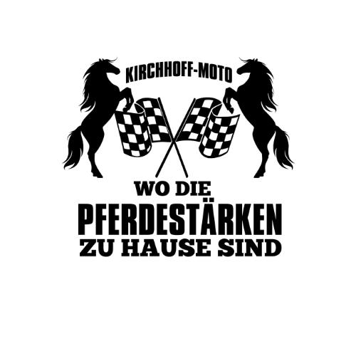 kirchhoff-moto logo weißer hintergrund